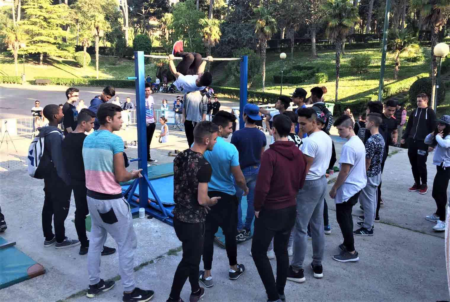 campeonato de calistenia y street workout en aragon